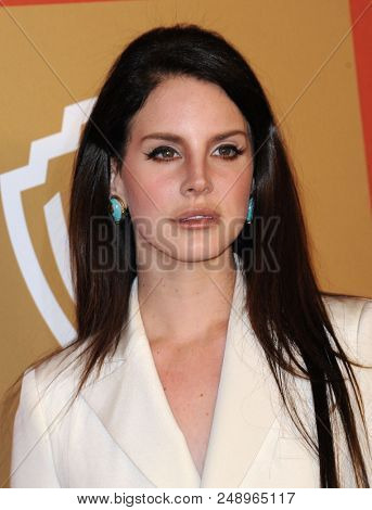 LOS ANGELES - JAN 13:  Lana Del Rey arrives to the WB/In Style Golden Globe Party  on January 13, 2013 in Hollywood, CA
