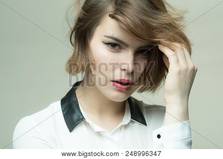 Get Right Cut For Hair Type. Cute Short Hairstyles For Women. Short Hair Styling Mistakes Avoid. Pop