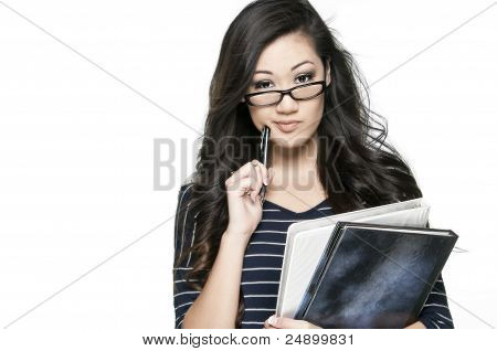 Confused Student