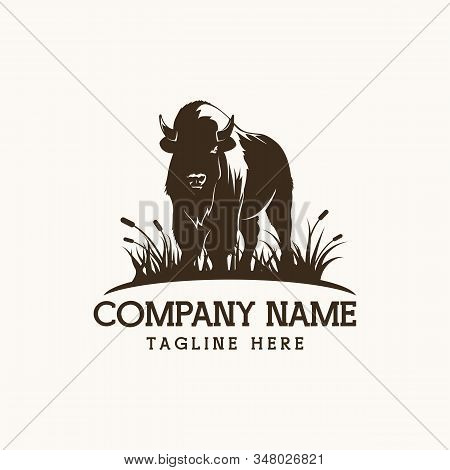 Bison Farm Amazing Design For Your Company Or Brand