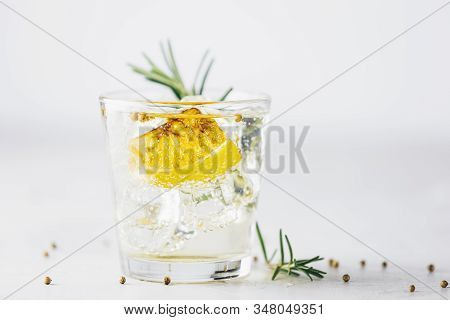 Charred Lemon, Rosemary And Coriander Gin And Tonic Is A Flavors Are Perfectly Balanced Refreshing C