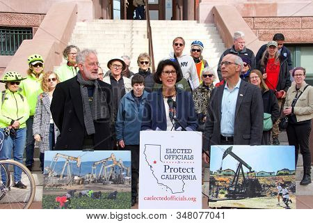 Alameda, Ca - Jan 15, 2020: Alameda Mayor Marilyn Ezzy Ashcraft,albany Mayor Nick Pilch And Oakland