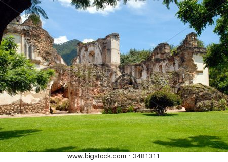 Ruins Of La Recoleccion, Church Of Antigua Guatemala