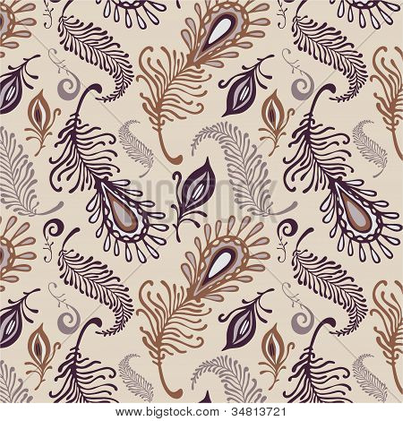 Various Feather Pattern