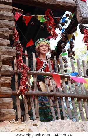 Naxi Ethnic Woman