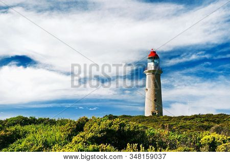 Red-capped Cape Du Couedic Lighthouse