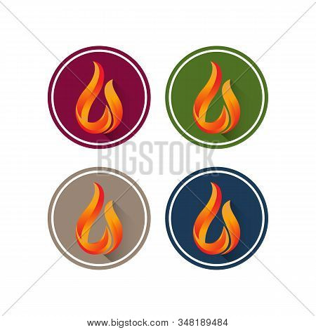 Fire Flames Vector Creative Design,fire Icon, Fire Icon Vector, Fire Icon Isolated On White Backgrou