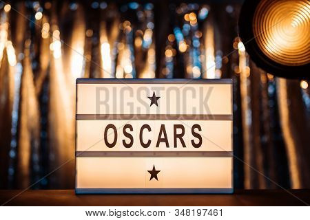 Hollywood, Los Angeles, Ca, Usa - January 31, 2020. The Academy Awards Or The Oscars Illustrative Ed