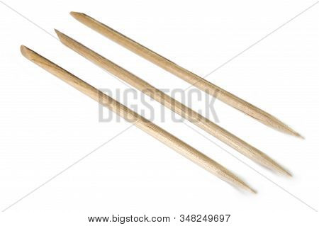 Wooden Sticks For Manicure And Pedicure Closeup-27.nef
