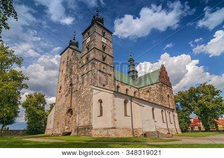 The Collegiate Church Of Saint Martin In Opatow, The Romanesque Church Of Saint Martin Of Tours Plac