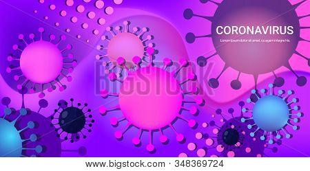 Coronavirus Cell Danger Public Health Risk Disease Epidemic Mers-cov Flu Spreading Floating Influenz