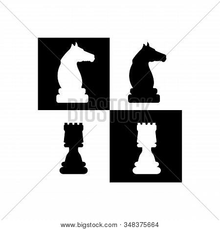 Chess Strategy Vector Icon, Gross Master Symbol. Modern, Simple Flat Vector Illustration For Web Sit