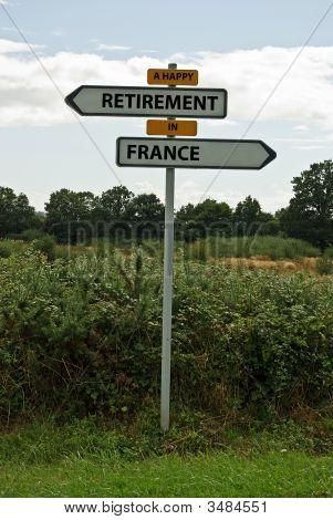 A Happy Retirement In France