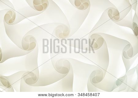 Abstract Background, Blurred Smooth Geometric Shapes, White And Gray, Very Light Warm Tone, Coffee S