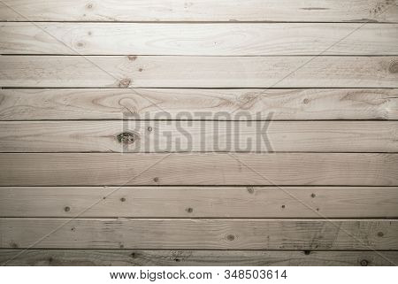 Aged Wood Planks Wall Background. Reclaimed Wooden Material Backdrop.