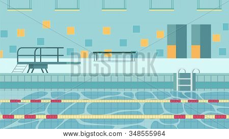 Heated Indoor Pool Accommodating Aquatic Sports To Encourage Participation. Swimming As Part Curricu