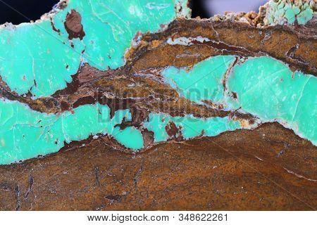 Chrysoprase Mineral Texture