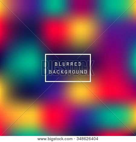 Vibrant Colors Gradient Background For Web Interface, Presentations, Prints. Bright Fluid Effect Hol