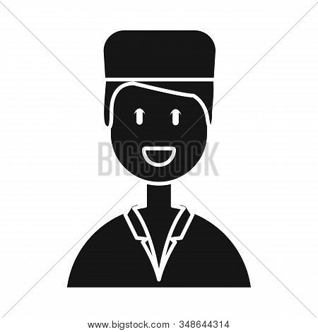Vector Design Of Physician And Portrait Icon. Set Of Physician And Ambulance Stock Vector Illustrati