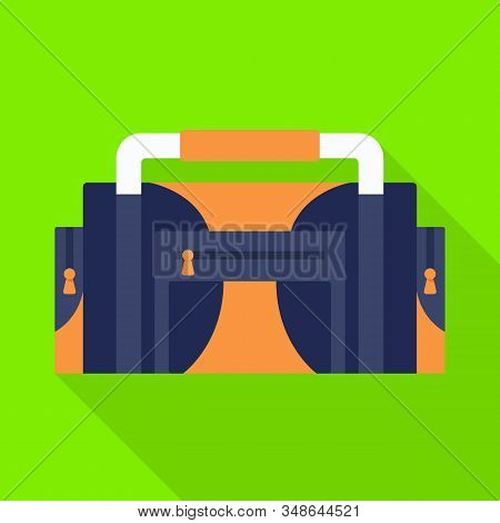 Vector Illustration Of Diver And Tool Icon. Web Element Of Diver And Regulator Stock Symbol For Web.