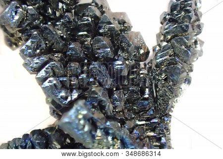 Vanadium Metal Crystal Isolated