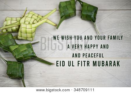 Eid Mubarak Quote - We Wish You And Your Family A Very Happy And Peaceful Eid Ul Fitr Mubarak. With