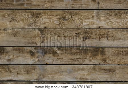 Wood Texture, Background Of Wooden Boards With Daring Course