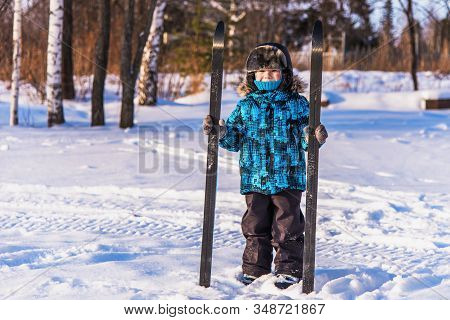 Child On A Ski Trip