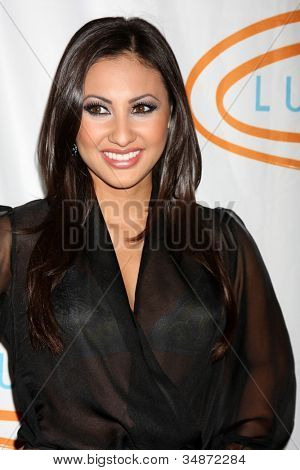 LOS ANGELES - MAY 24: Francia Raisa at the at the 12th Annual Lupus LA Orange Ball at Beverly Wilshire Hotel on May 24, 2012 in Beverly Hllls, California