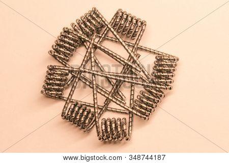Beautiful Vape Coils. Trigger Coil. Heap Of Vape Coils.