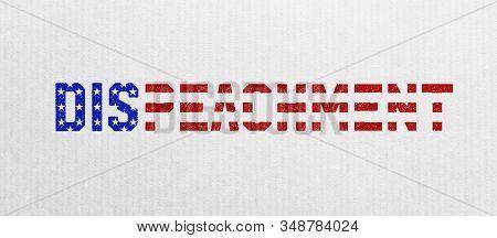 Illustration Idea For Impeachment Trial Trumped By Republican Senate Majority.
