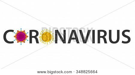 Coronavirus Icon, 2019-ncov Novel Coronavirus Concept Resposible For Asian Flu Outbreak And Coronavi