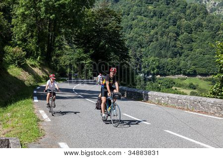 On The Road To Col D'aubisque