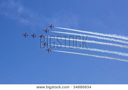 RAF Red Arrows Aerobatic team