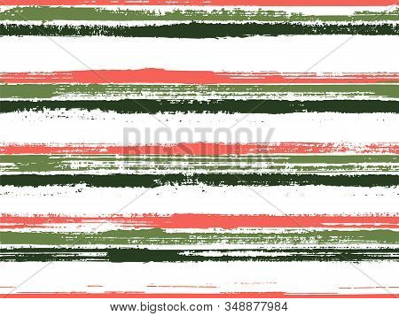 Stripes Geometric Textile Seamless Vector Pattern. Seamless Casual Lines Background. Geometric Casua