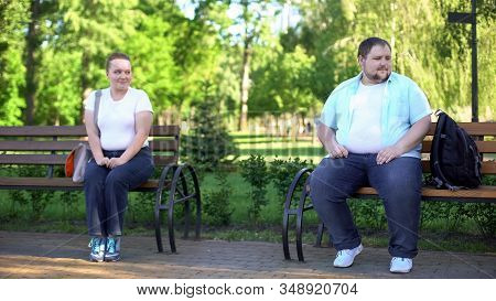 Shy Girl Flirting With Handsome Fat Man, Afraid Talking With Him, Insecurities