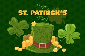 St. Patrick Day Greeting Card Or Banner