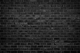 Abstract Dark Brick Wall Texture Background Pattern, Wall Brick Surface Texture. Brickwork Painted O