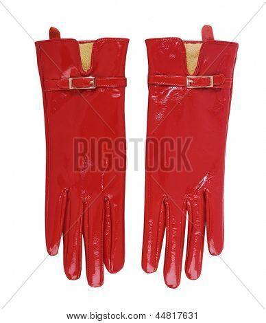 red gloves poster