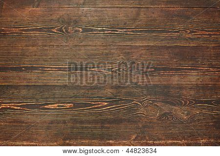 Wooden floor texture or background.