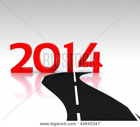 New Year 2014 - 3D