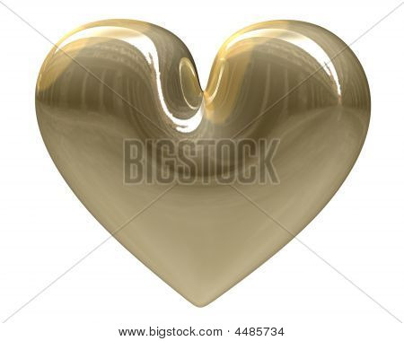 Golden Heart (3D)