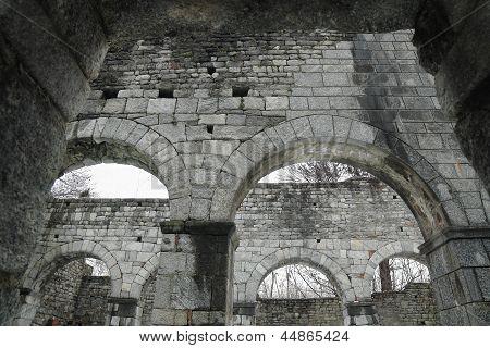 Romanesque Church In Ruin
