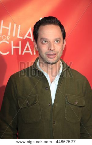 LOS ANGELES - APR 25:  Nick Kroll arrives at the Second Annual Hilarity For Charity benefiting The Alzheimer's Association  at the Avalon  on April 25, 2013 in Los Angeles, CA