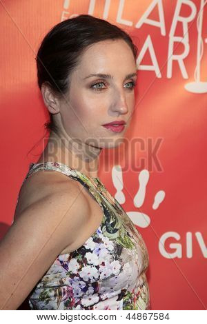 LOS ANGELES - APR 25:  Zoe Lister Jones arrives at the Second Annual Hilarity For Charity benefiting The Alzheimer's Association  at the Avalon  on April 25, 2013 in Los Angeles, CA