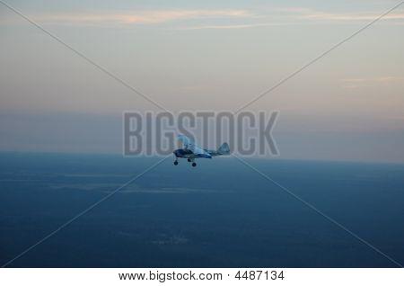 Piper Colt Flying