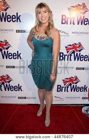 LOS ANGELES - APR 23:  Julia Verdin arrives at the 7th Annual BritWeek Festival