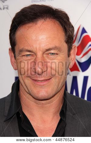 LOS ANGELES - APR 23:  Jason Isaacs arrives at the 7th Annual BritWeek Festival