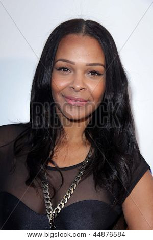 LOS ANGELES - APR 23:  Samantha Mumba arrives at the 7th Annual BritWeek Festival