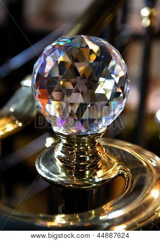Big Crystal Ball, Home Decorative Detail